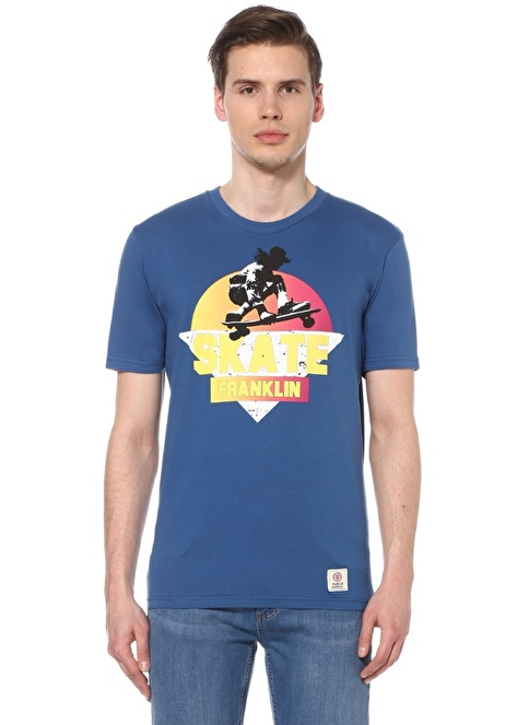 Franklin & Marshall Tişört Mavi